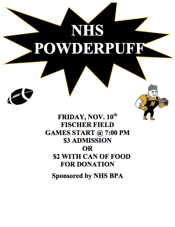 NHS powderpuff football